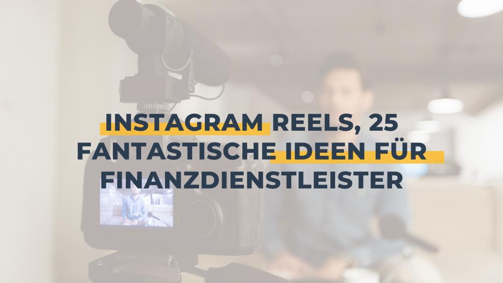 Instagram reel, Videodreh